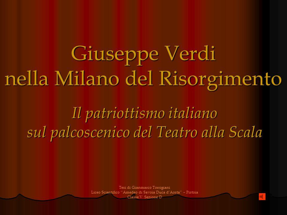 Giuseppe Verdi nella Milano del Risorgimento