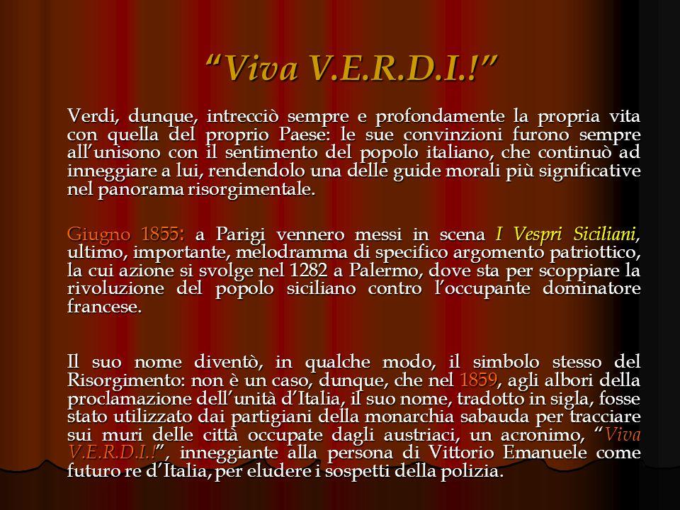 Viva V.E.R.D.I.!