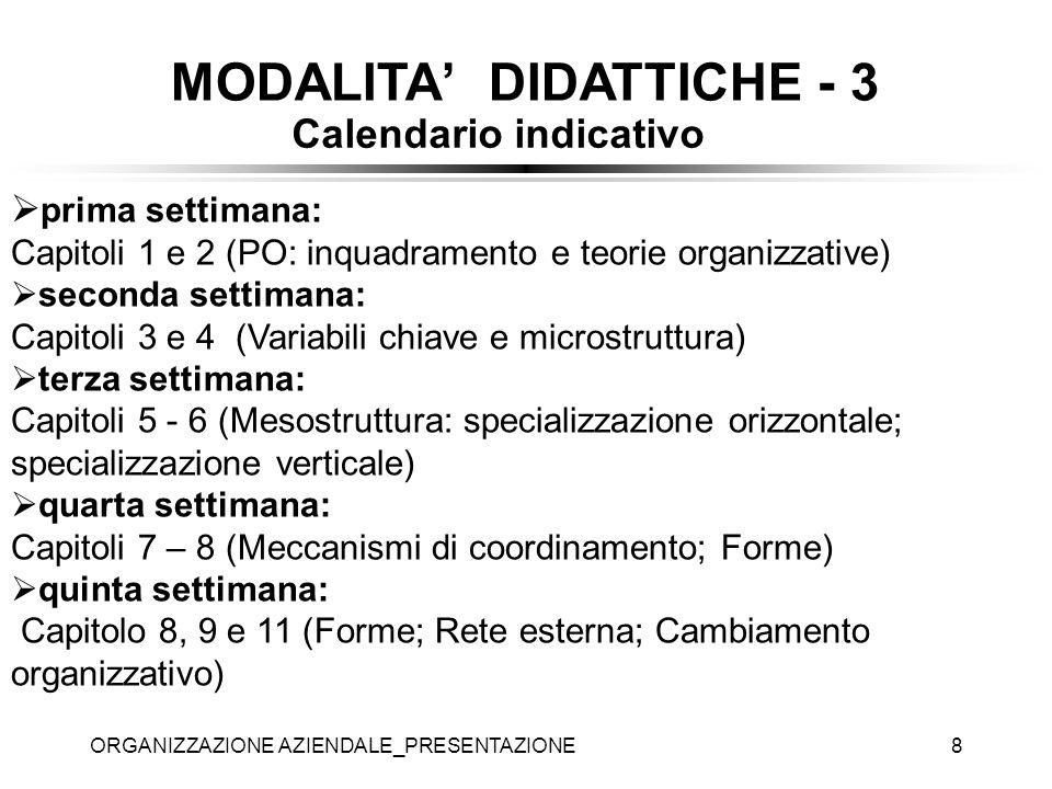 MODALITA' DIDATTICHE - 3
