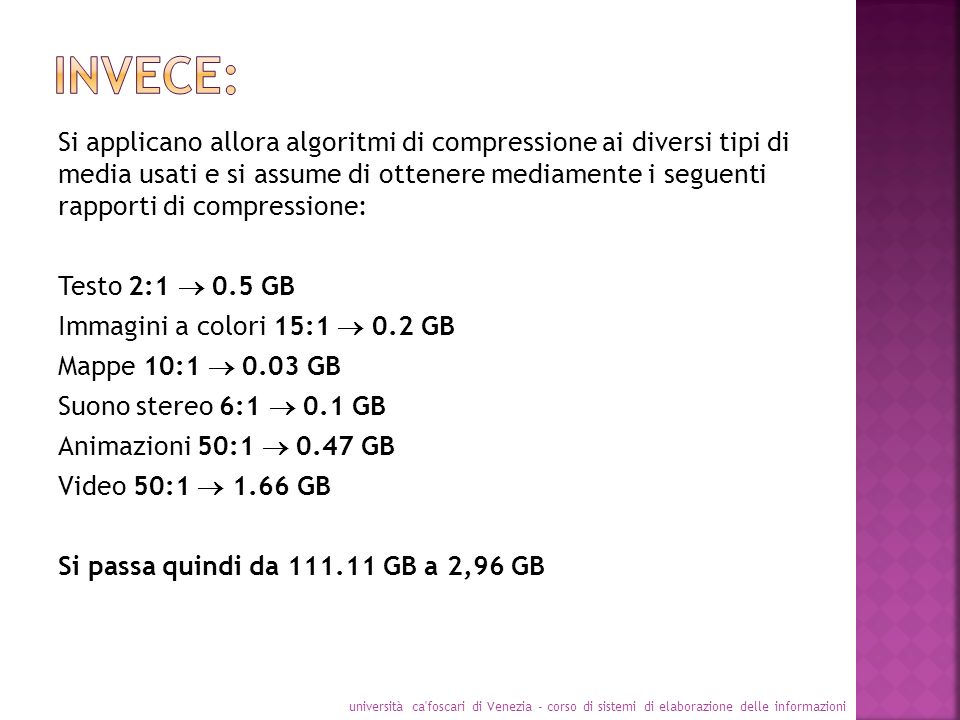 INVECE: