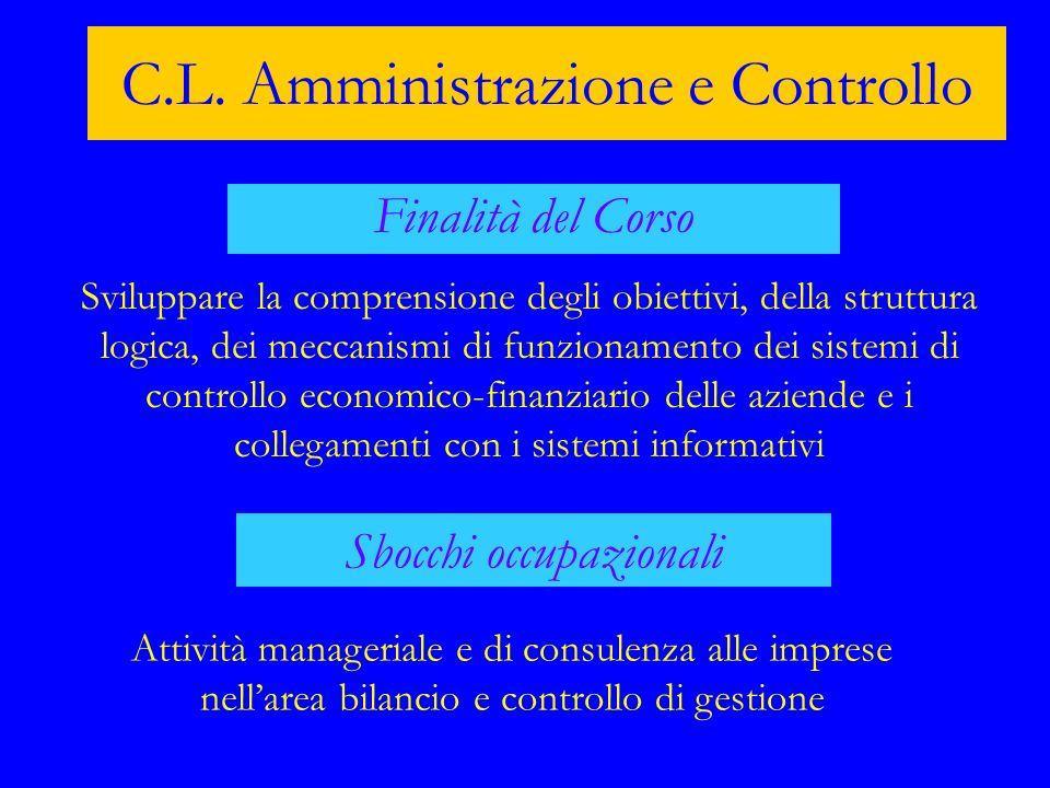C.L. Amministrazione e Controllo