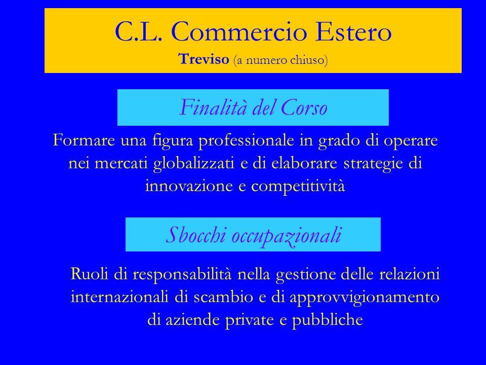 C.L. Commercio Estero Treviso (a numero chiuso)