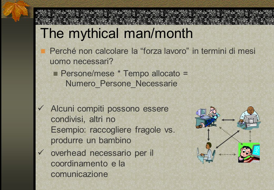 The mythical man/month