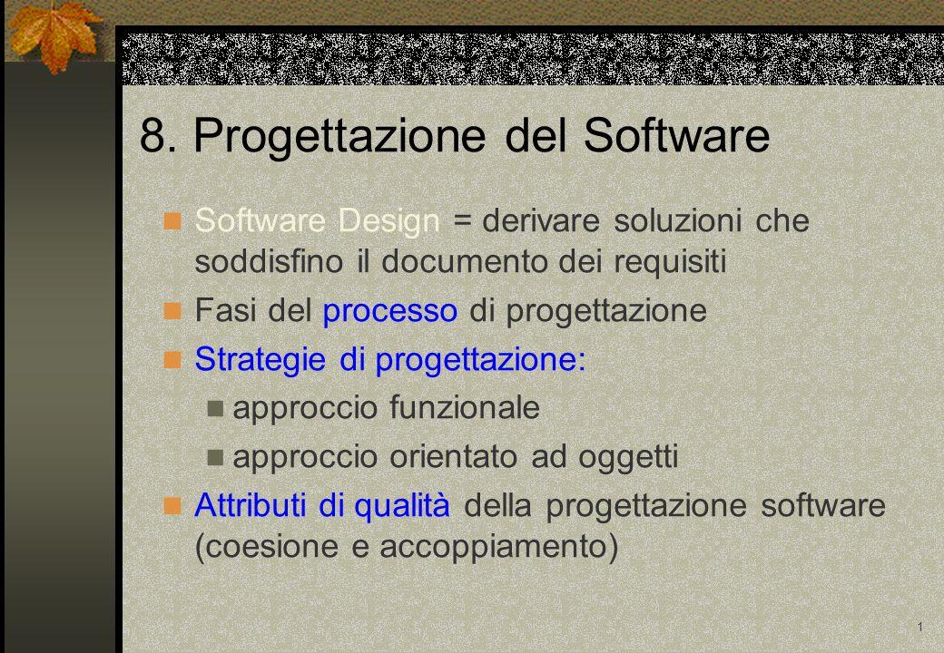 8. Progettazione del Software