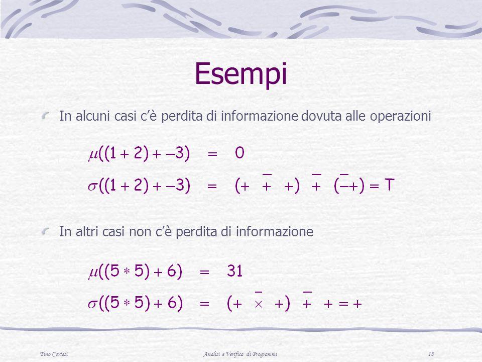 Analisi e Verifica di Programmi