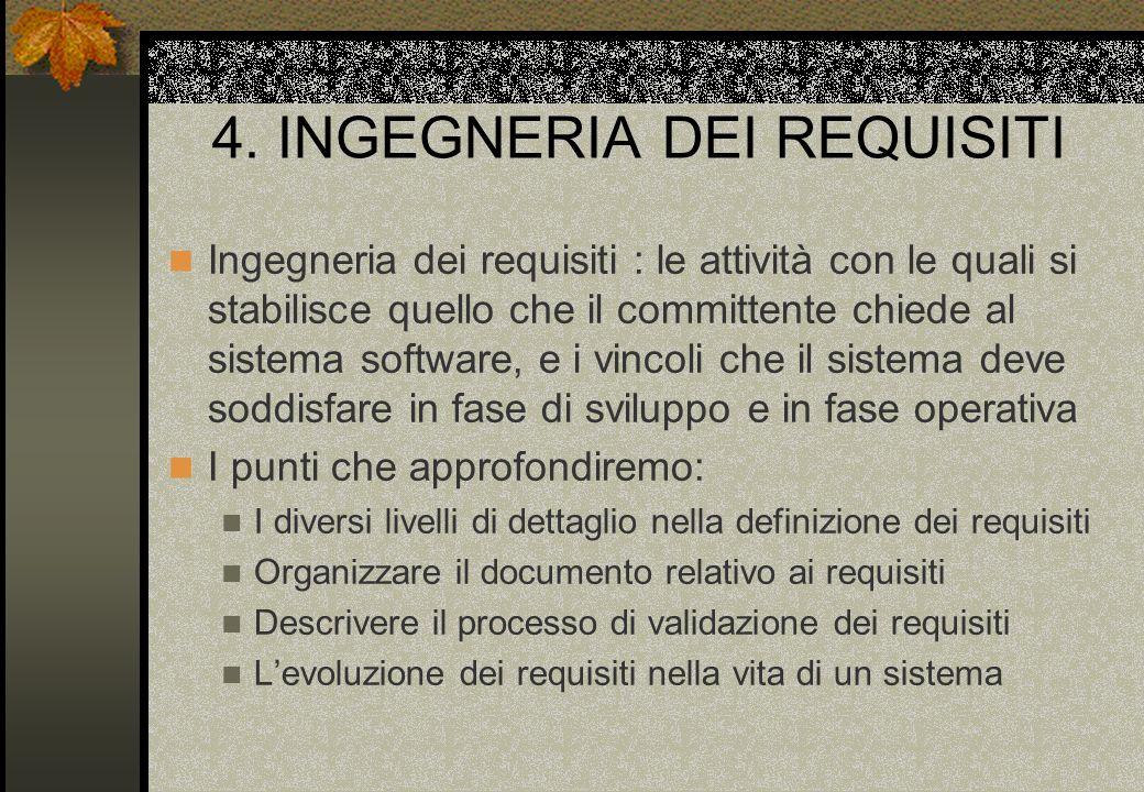 4. INGEGNERIA DEI REQUISITI