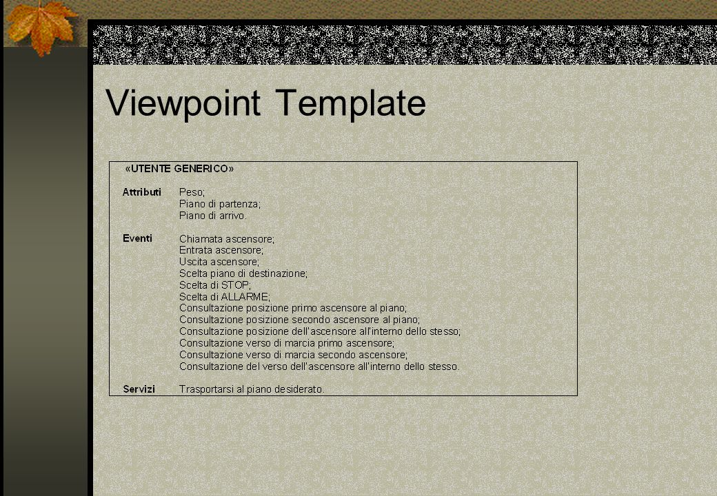 Viewpoint Template