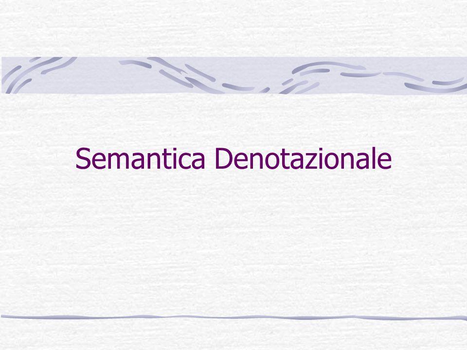 Semantica Denotazionale