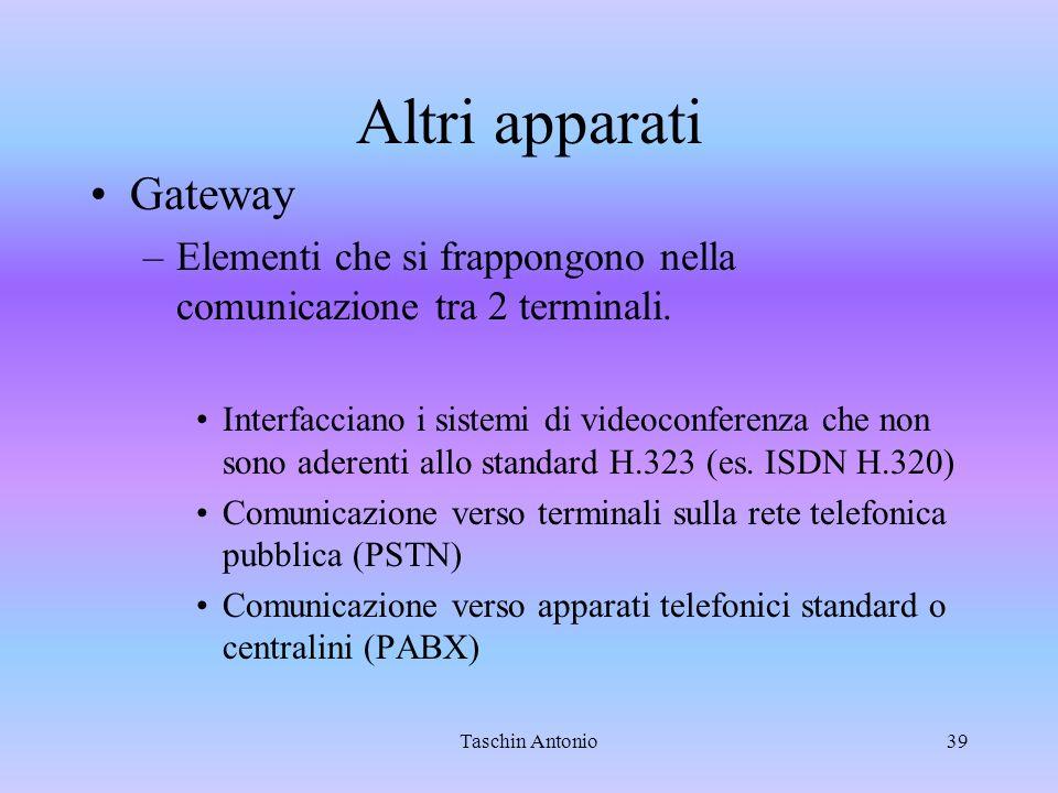 Altri apparati Gateway