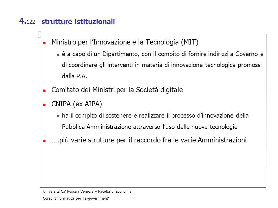 strutture istituzionali