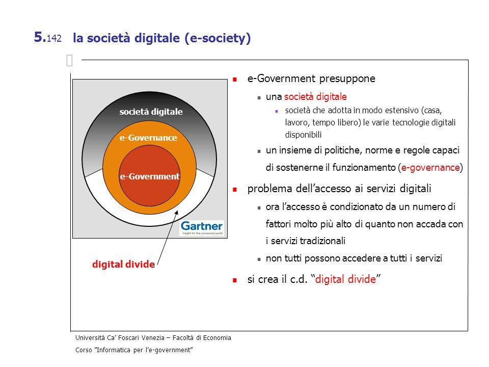 la società digitale (e-society)