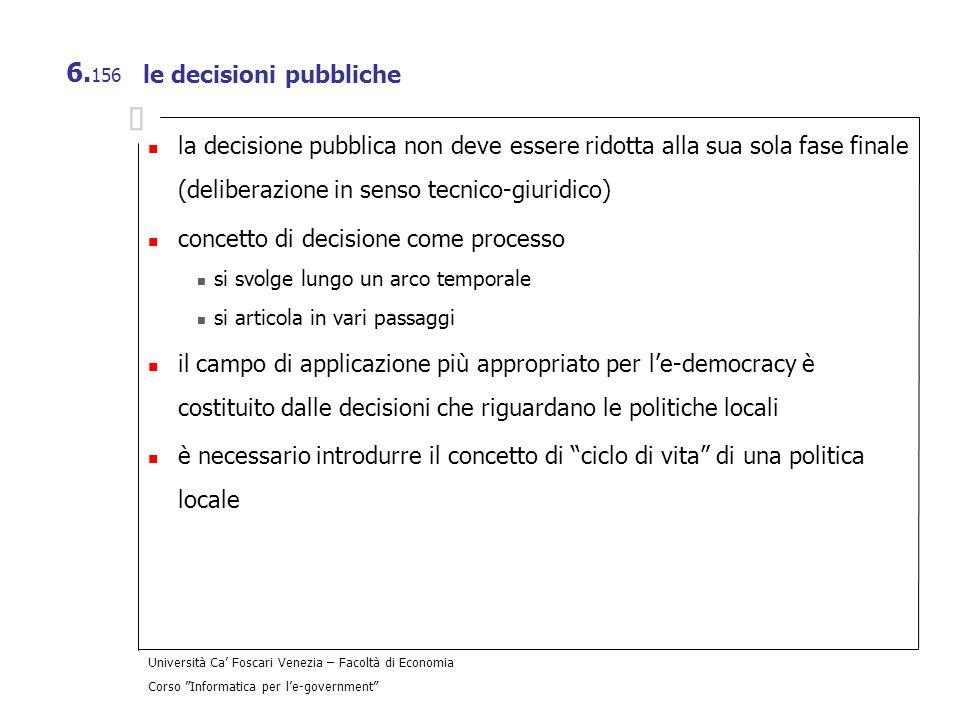 le decisioni pubbliche