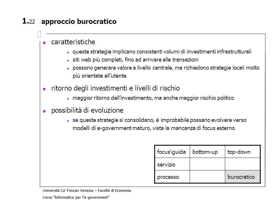 approccio burocratico