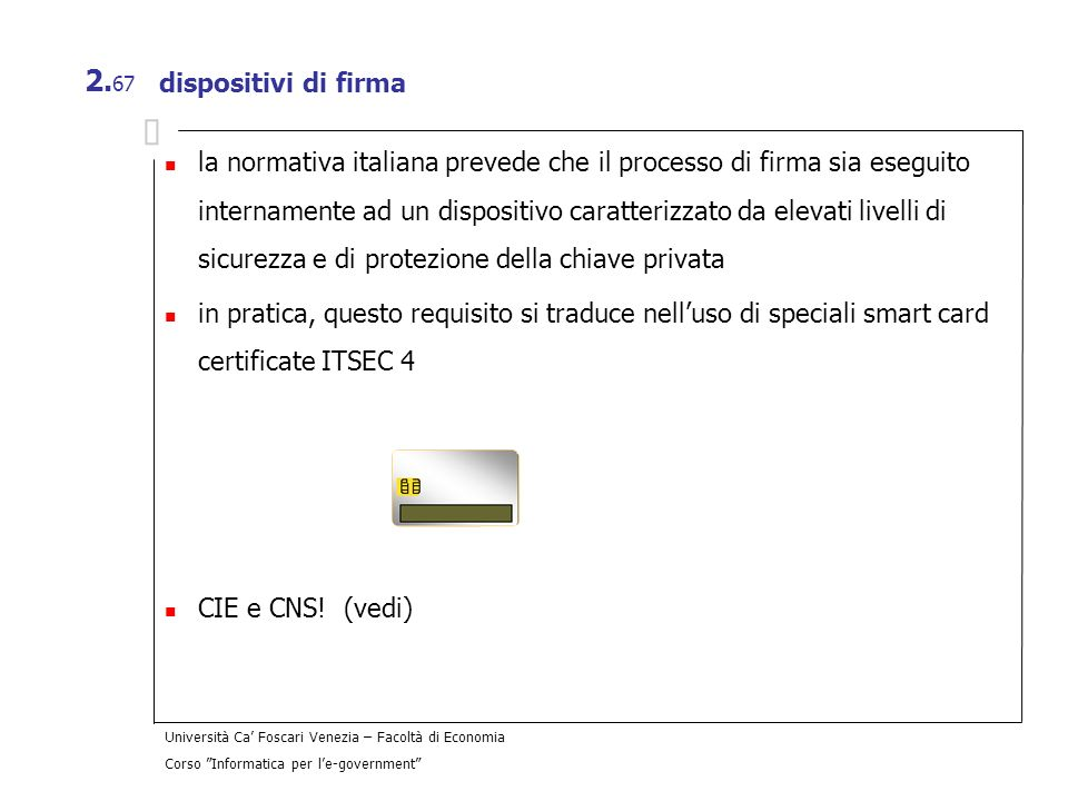 dispositivi di firma
