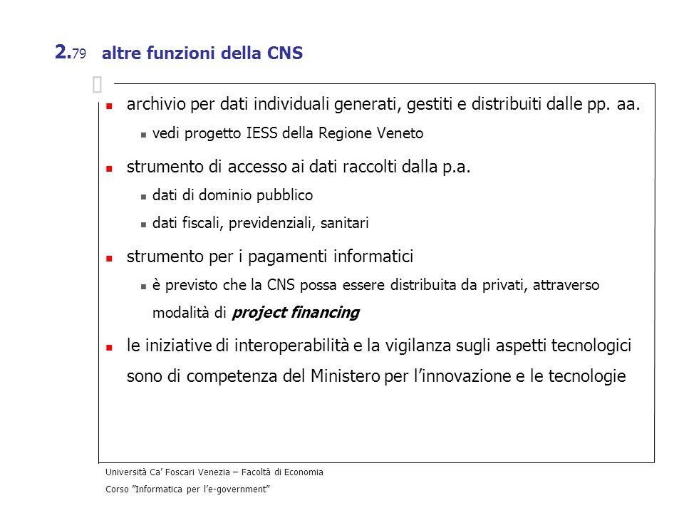 altre funzioni della CNS