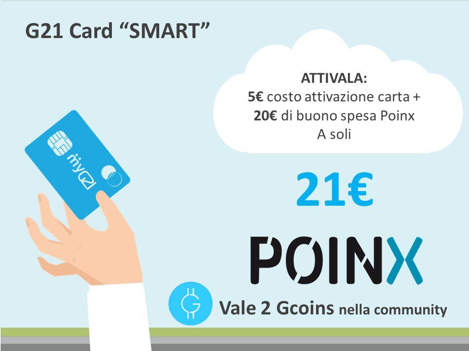 5€ costo attivazione carta +