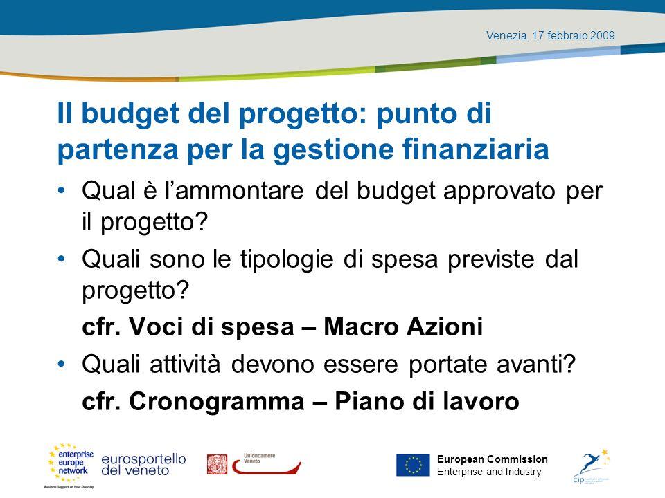 Il budget del progetto: punto di partenza per la gestione finanziaria