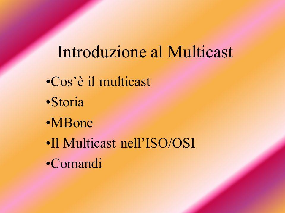 Introduzione al Multicast