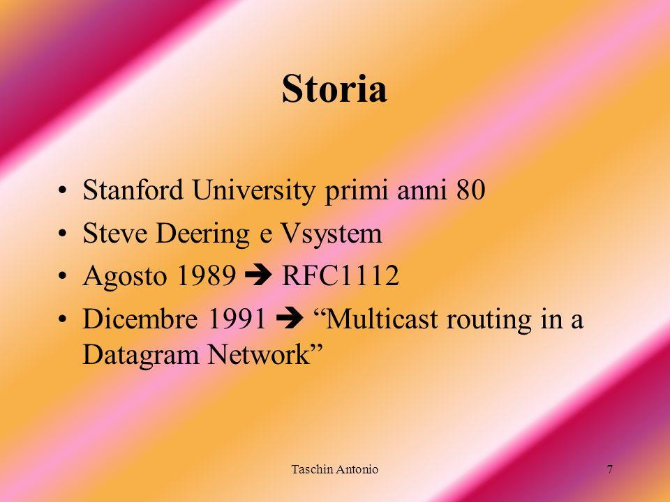 Storia Stanford University primi anni 80 Steve Deering e Vsystem