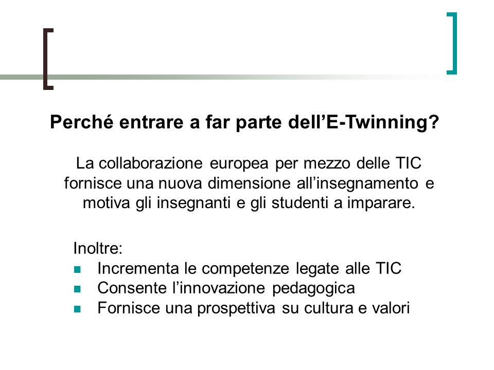 Perché entrare a far parte dell'E-Twinning