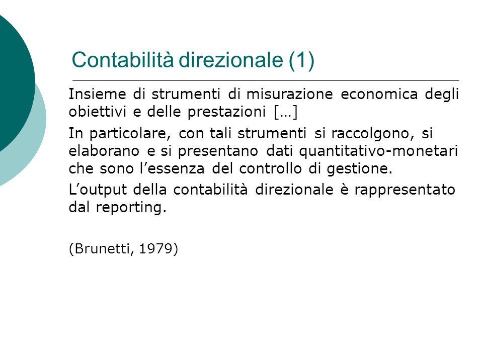 Contabilità direzionale (1)