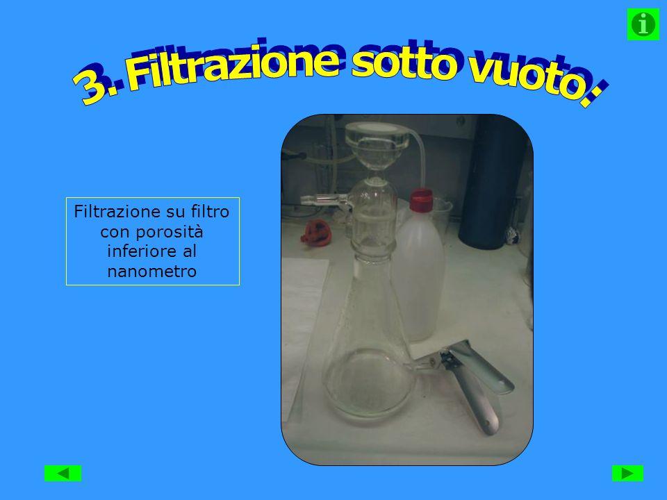 3. Filtrazione sotto vuoto: