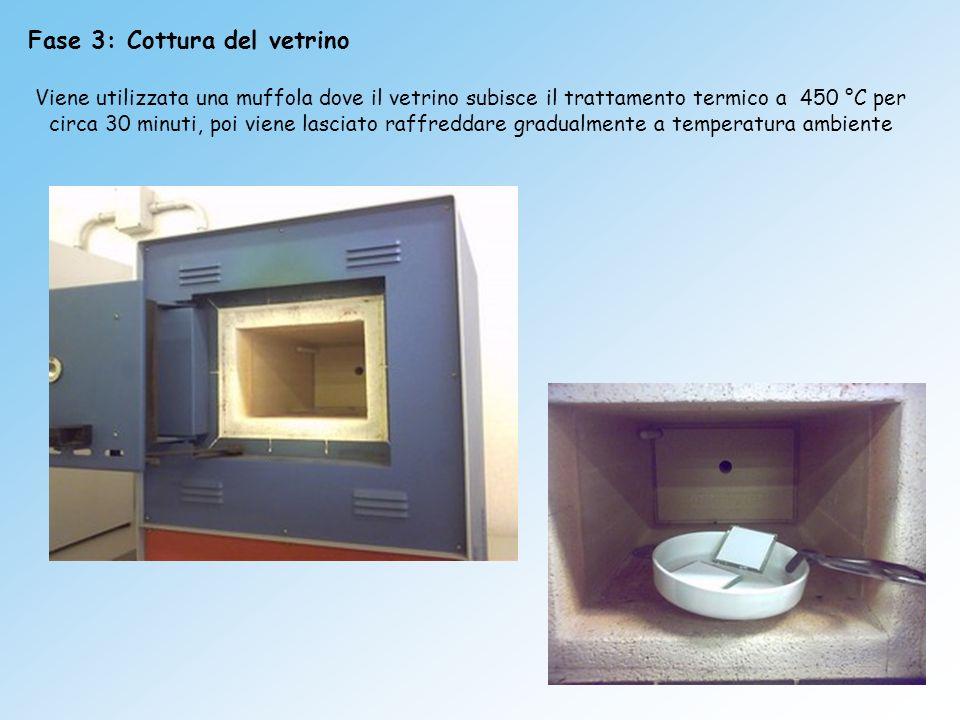 Fase 3: Cottura del vetrino