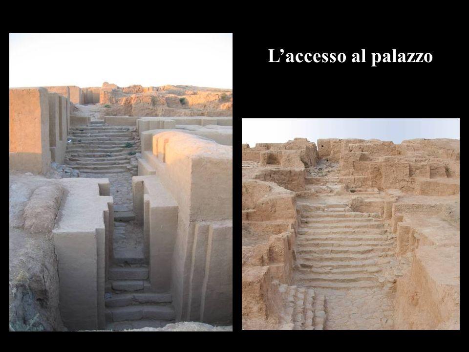L'accesso al palazzo
