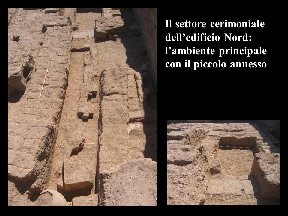 Il settore cerimoniale dell'edificio Nord: l'ambiente principale