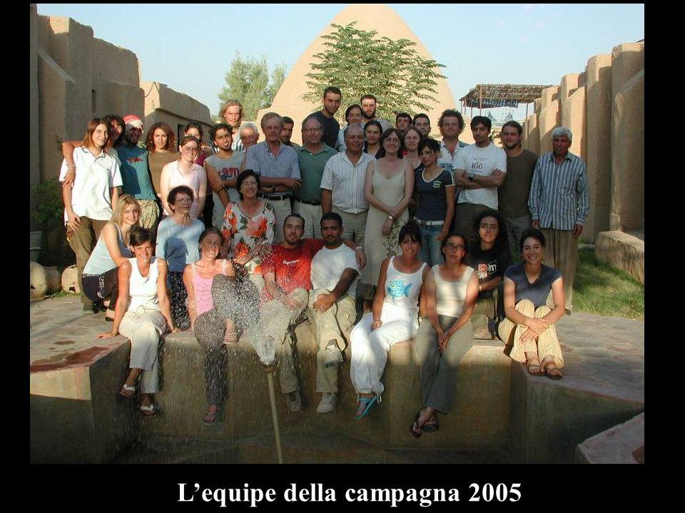 L'equipe della campagna 2005