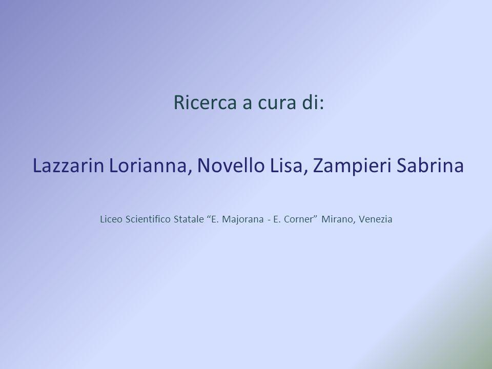Lazzarin Lorianna, Novello Lisa, Zampieri Sabrina