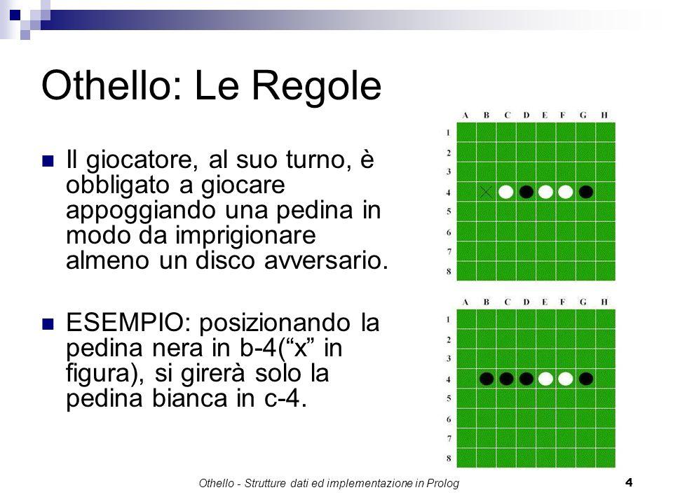 Othello - Strutture dati ed implementazione in Prolog