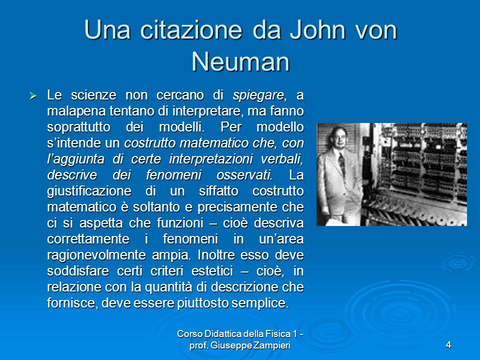 Una citazione da John von Neuman