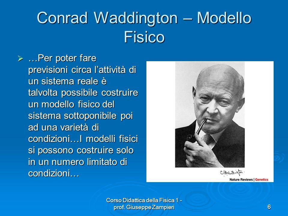 Conrad Waddington – Modello Fisico
