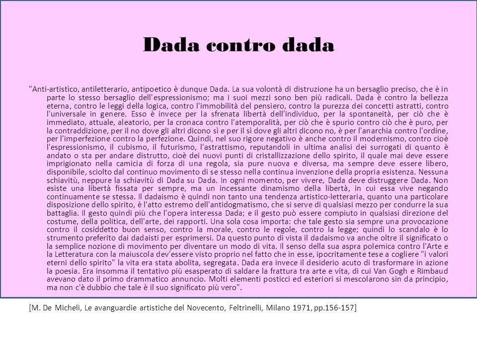 Dada contro dada