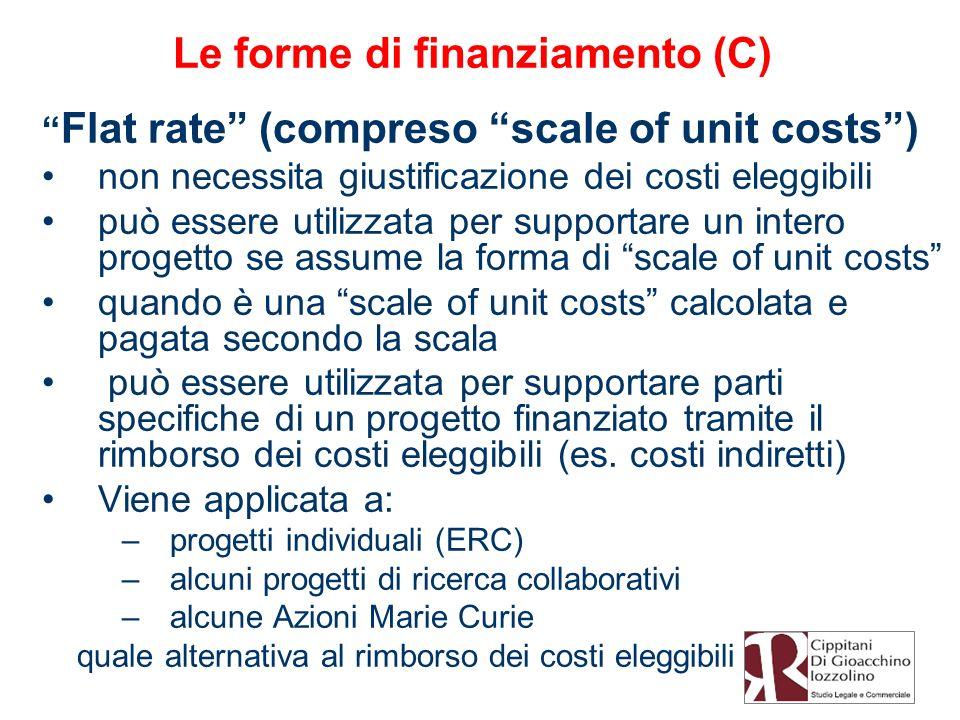 Le forme di finanziamento (C)
