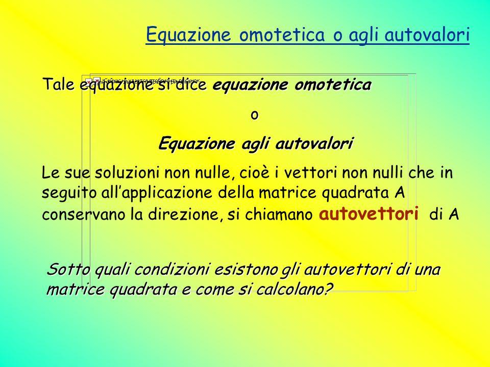 Equazione agli autovalori