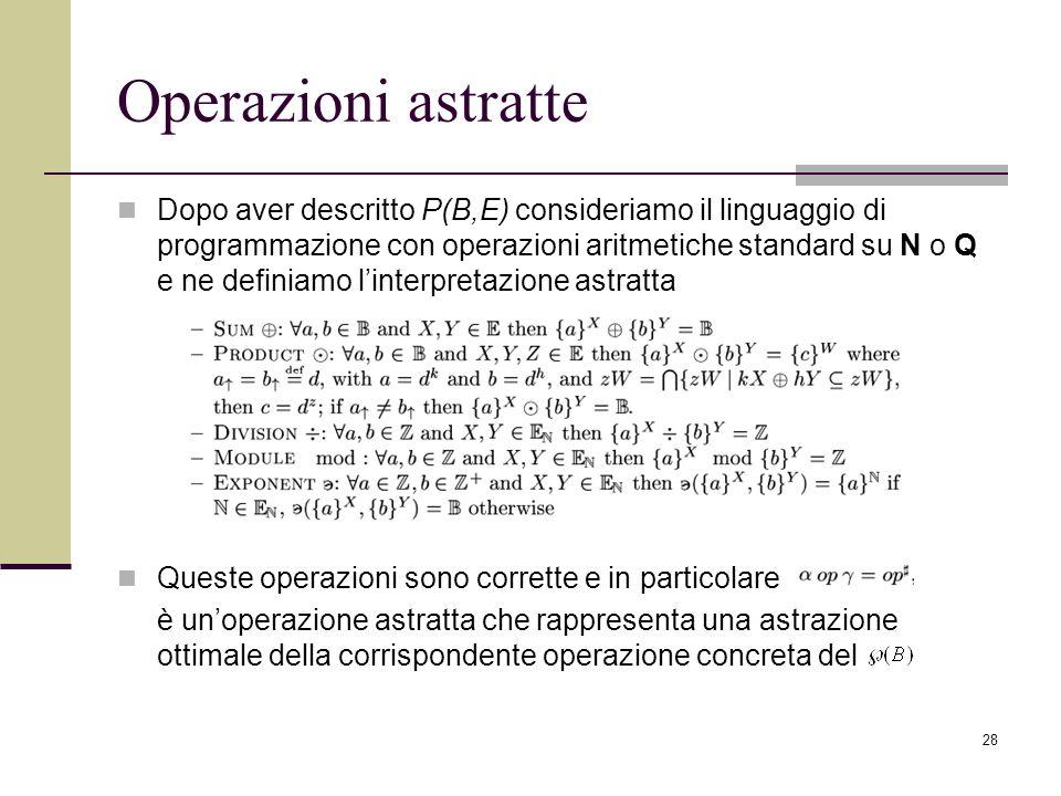 Operazioni astratte