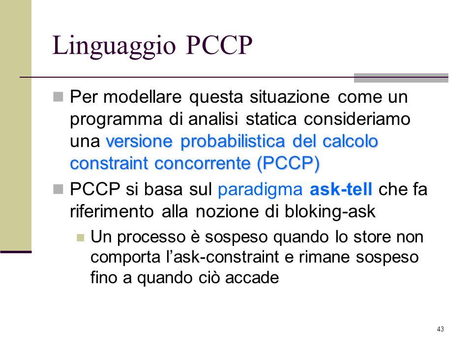 Linguaggio PCCP