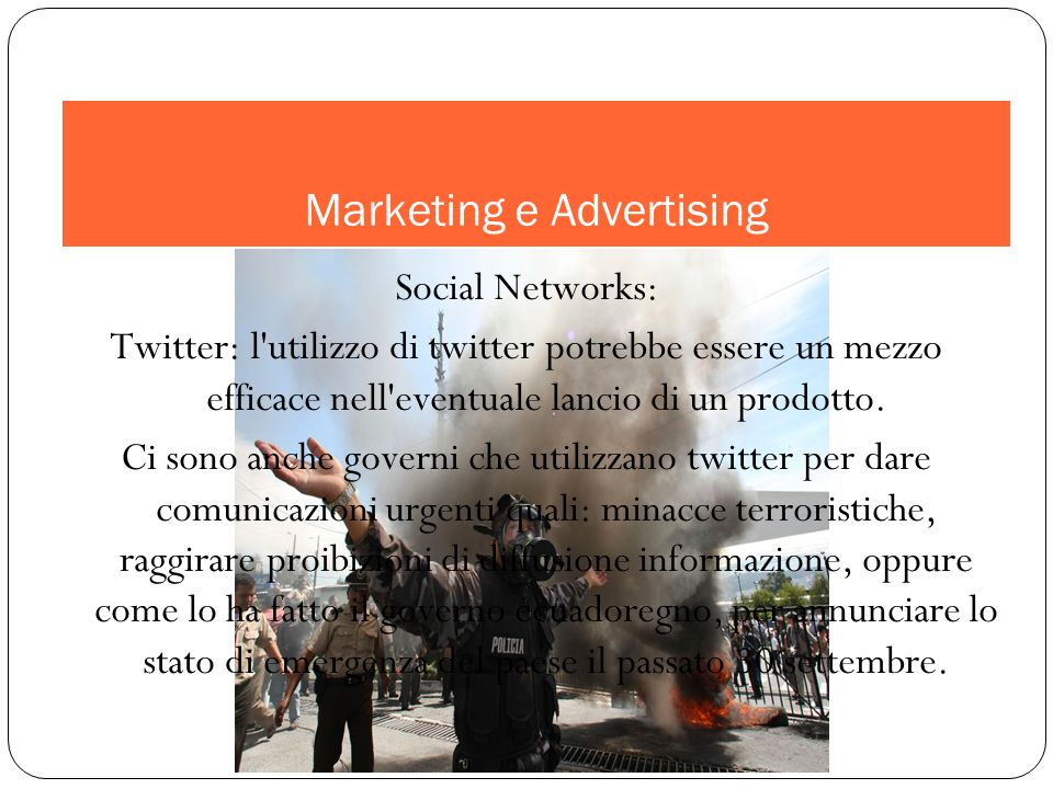 Marketing e Advertising