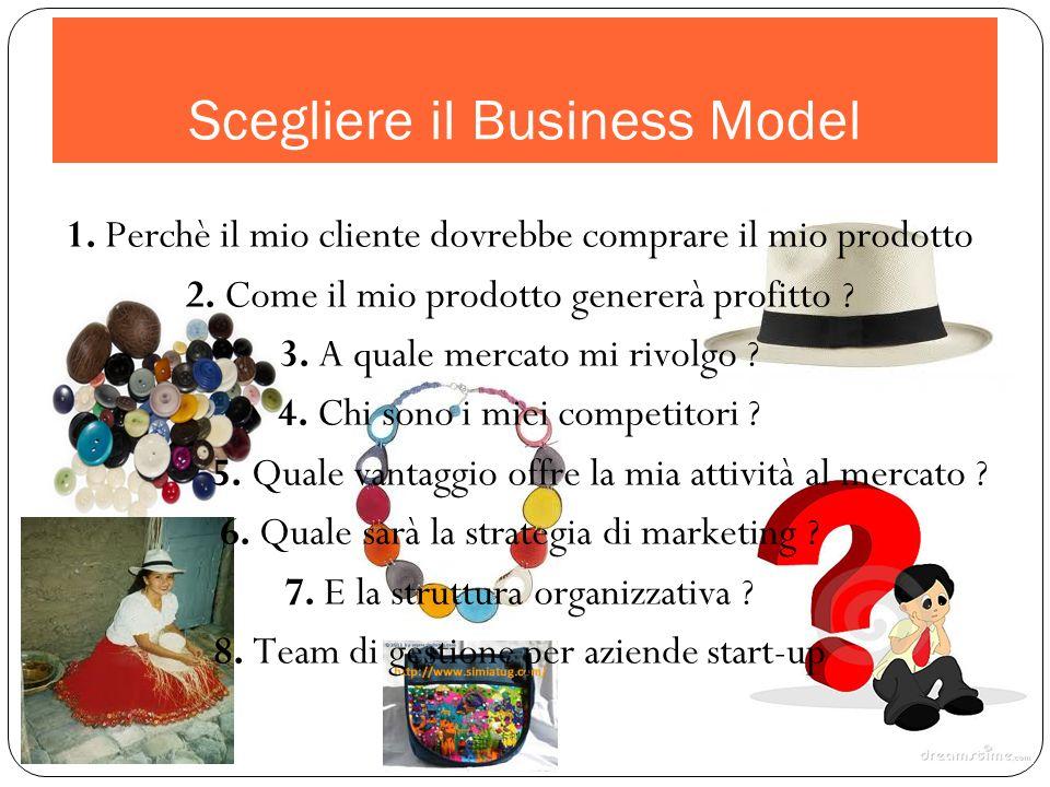 Scegliere il Business Model