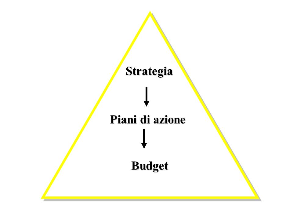 Strategia Piani di azione Budget