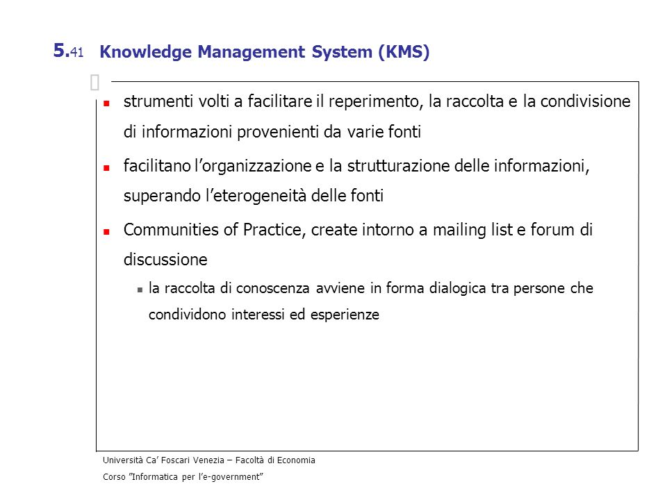Knowledge Management System (KMS)