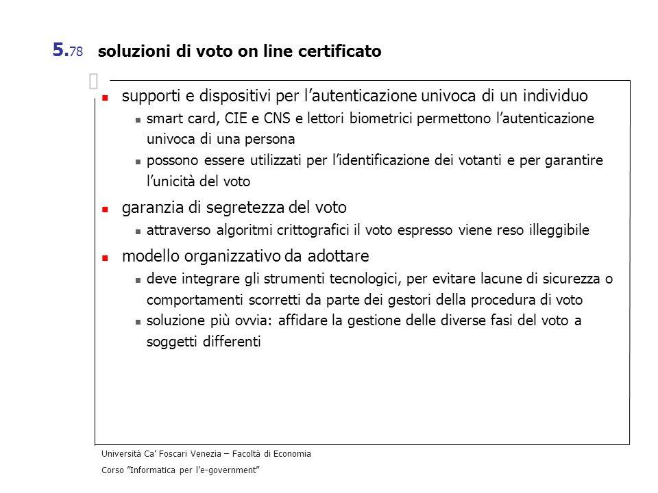 soluzioni di voto on line certificato