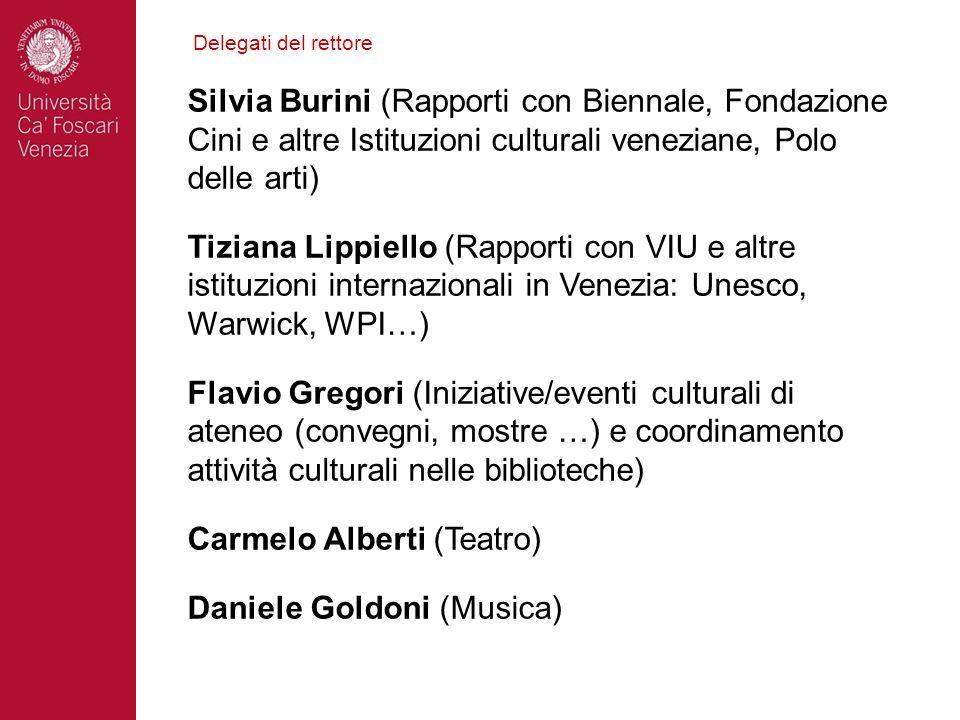Carmelo Alberti (Teatro) Daniele Goldoni (Musica)