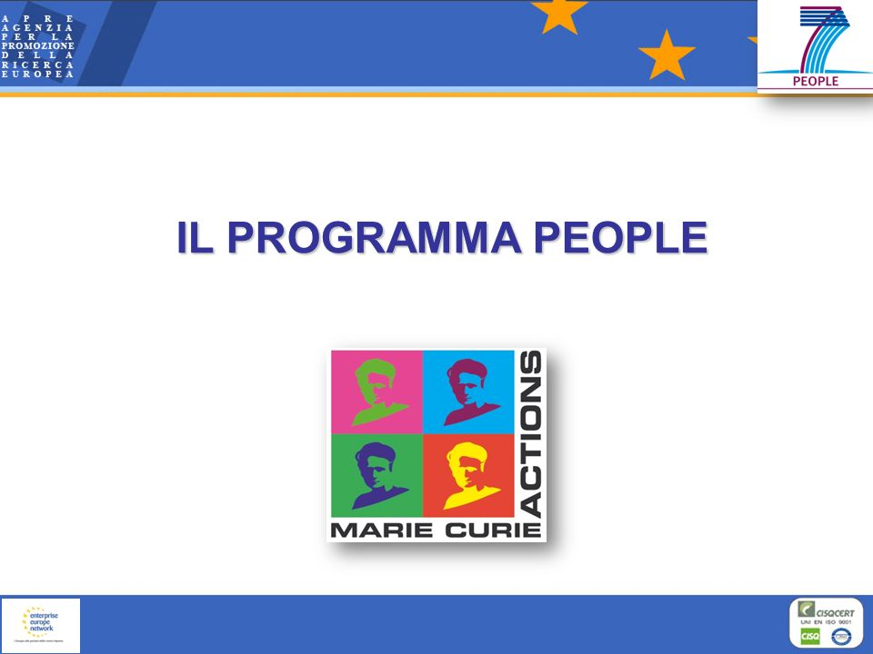 IL PROGRAMMA PEOPLE 10