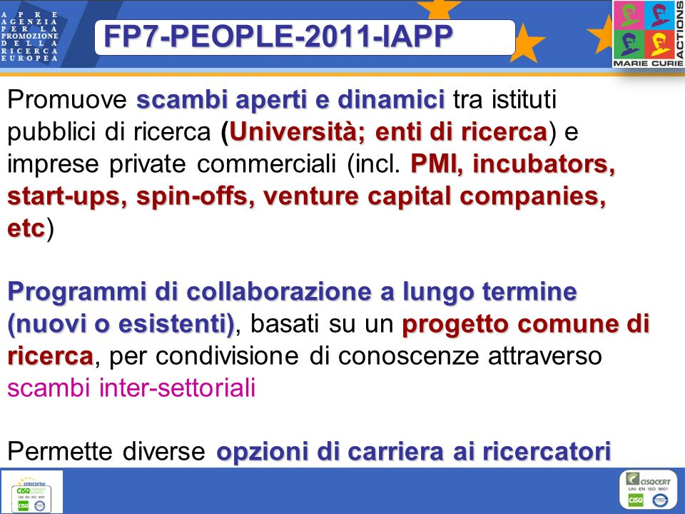 FP7-PEOPLE-2011-IAPP