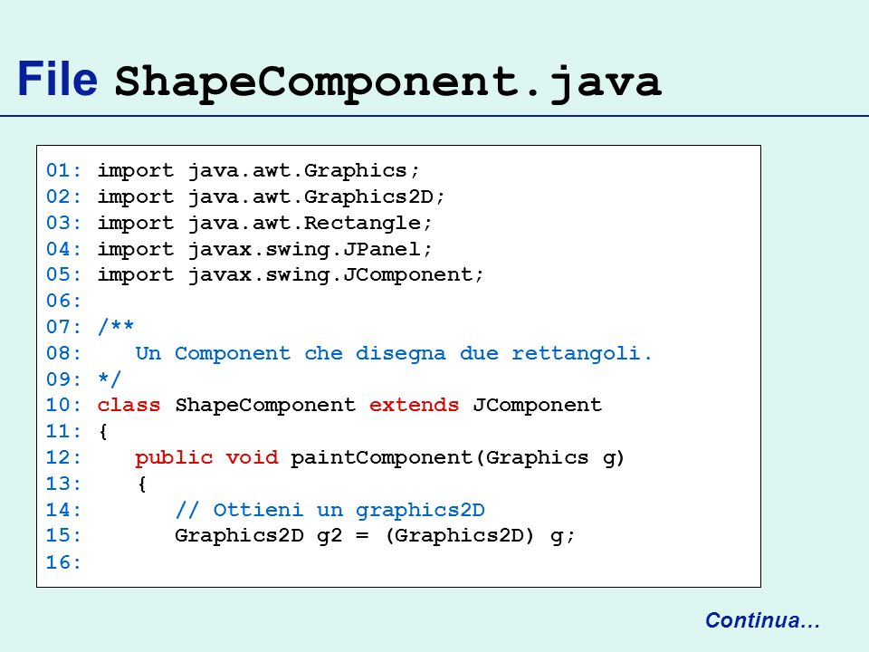 File ShapeComponent.java
