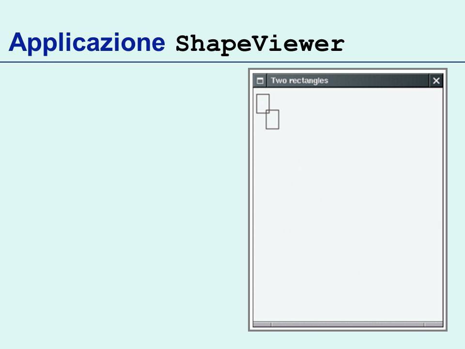 Applicazione ShapeViewer
