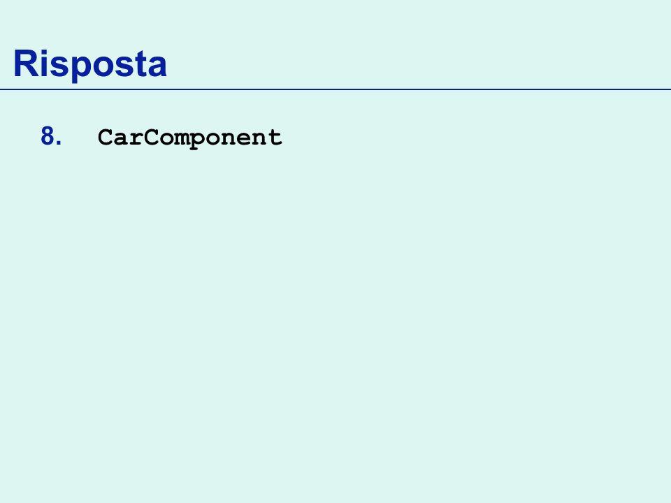 Risposta CarComponent